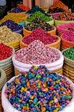 Wysuszeni i barwioni figa kwiaty Zdjęcia Stock