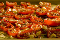 Wysuszeni pomidory Obrazy Royalty Free