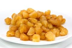 Wysuszona longan owoc Zdjęcie Stock