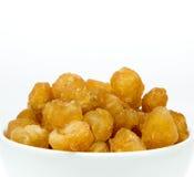 Wysuszona longan owoc Zdjęcia Stock