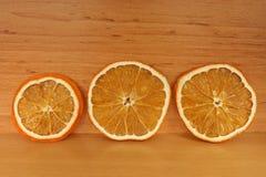 Wysuszona pomarańcze Zdjęcie Stock