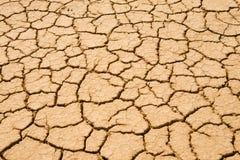 wysuszona pustyni ziemia wysuszony Obrazy Royalty Free