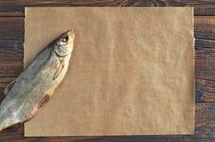 Wysuszona solona ryba dla piwa Zdjęcie Stock