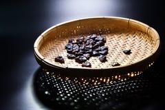 Wysuszone czarne oliwki Fotografia Royalty Free