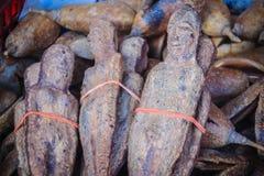 Wysuszone Nariphon owoc dla sprzedaży przy amuletu rynkiem, Tajlandia T Obraz Stock