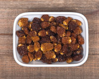 Wysuszone organicznie złote jagody, pęcherzyca Peruviana Fotografia Royalty Free