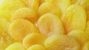 Wysuszone owoc, Ups wirują wysuszone morele zbiory wideo