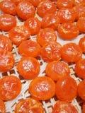 wysuszonego jajka soleni yolks Zdjęcie Royalty Free