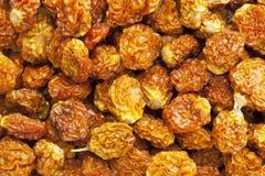 wysuszony goldenberry organicznie Obrazy Royalty Free