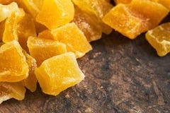 Wysuszony i candied mango obrazy stock