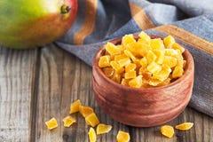 Wysuszony i candied mango obraz royalty free