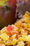 Wysuszony i candied mango obrazy royalty free