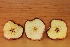 Wysuszony jabłko Fotografia Stock