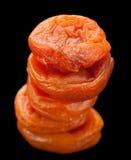 Wysuszony morelowy owocowy słodki jedzenie Obrazy Stock