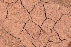 Wysuszony - out brown ziemia Obraz Royalty Free