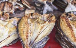 Wysuszony rybi rynek w Labuan Bajo, Flores wyspa, Indonezja Obraz Stock