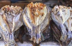 Wysuszony rybi rynek w Labuan Bajo, Flores wyspa, Indonezja Obrazy Royalty Free