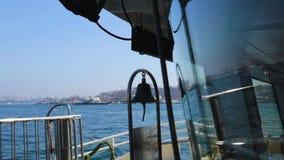 Wysyła dzwon na żeglowanie łodzi, denna podróży przygoda, piękny seascape, transport zdjęcie wideo