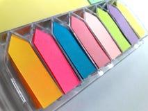 Wysyła mnie który wielo- kolor w pudełko secie Zdjęcie Stock