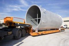 Wysyłający, lotniczej deaktywaci kanał na ciężarówce Zdjęcie Royalty Free