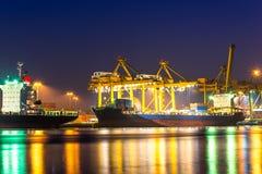 Wysyłka port Zdjęcia Stock