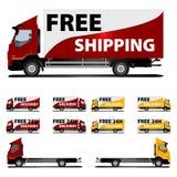 wysyłki bezpłatna ciężarówka Zdjęcie Royalty Free