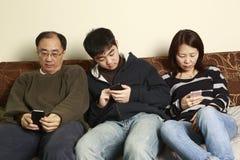 Wysylanie SMS Zdjęcia Royalty Free