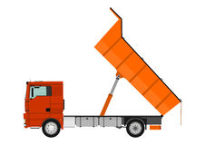 wysypiska ekskawatoru ciężarówka mórz Fotografia Royalty Free