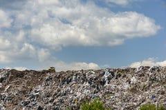 Wysypisko dla gospodarstwo domowe odpady zdjęcia royalty free