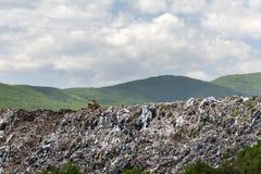 Wysypisko dla gospodarstwo domowe odpady zdjęcie royalty free