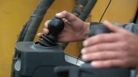 Wyszczególniać nowy kierowca taksówki ekskawator klamerka Kierowca dźwigowa ręka zbiory