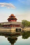 wyszczególnia cesarskiego pałac Obraz Royalty Free