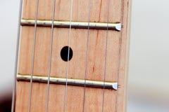 wyszczególnia gitarę elektryczną Zdjęcia Stock