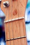 wyszczególnia gitarę elektryczną Zdjęcie Stock
