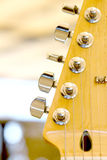 wyszczególnia gitarę elektryczną Obraz Royalty Free