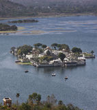 wyszczerbienia jeziorny mandir pałac pichola Obraz Stock