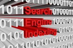Wyszukiwarki indexing Obraz Stock