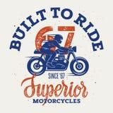 Wyższy motocykl 004 Obraz Stock