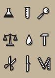 Wytłaczać wzory ikonę Zdjęcia Royalty Free