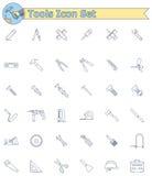 Wytłacza wzory ikona set Zdjęcia Stock
