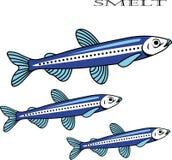Wytapia ryba kreskówki ilustrację Fotografia Stock