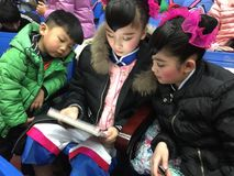 wytchnienie 2017 rocznych Pekin tana akademii ocenia próbną znakomitą dziecka ` s tana nauczania osiągnięcia wystawę Jiangxi Obrazy Royalty Free