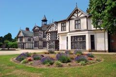Wythenshawe Hall royaltyfri bild