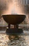 Wytryśnięcie woda fontanna obrazy stock