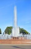 Wytryśnięcie woda fontanna fotografia royalty free