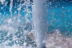 Wytryśnięcie woda fontanna Pluśnięcie woda w fontannie obrazy stock