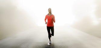 wytrzymałości biegacza szkolenie Obraz Stock