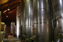 wytwórnia win Obraz Stock