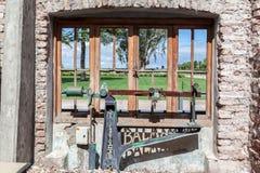 Wytwórnia win w Mendoza Argentyna Fotografia Stock