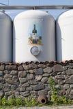 Wytwórnia win zbiornik w Duruji dolinie Obrazy Stock